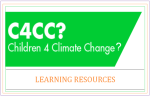 Children for Climate Change Learning Resources Header